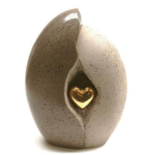 En céramique