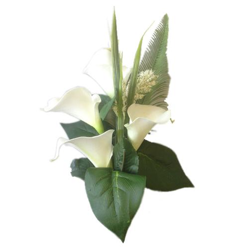 Fleurs artificielles funéraires